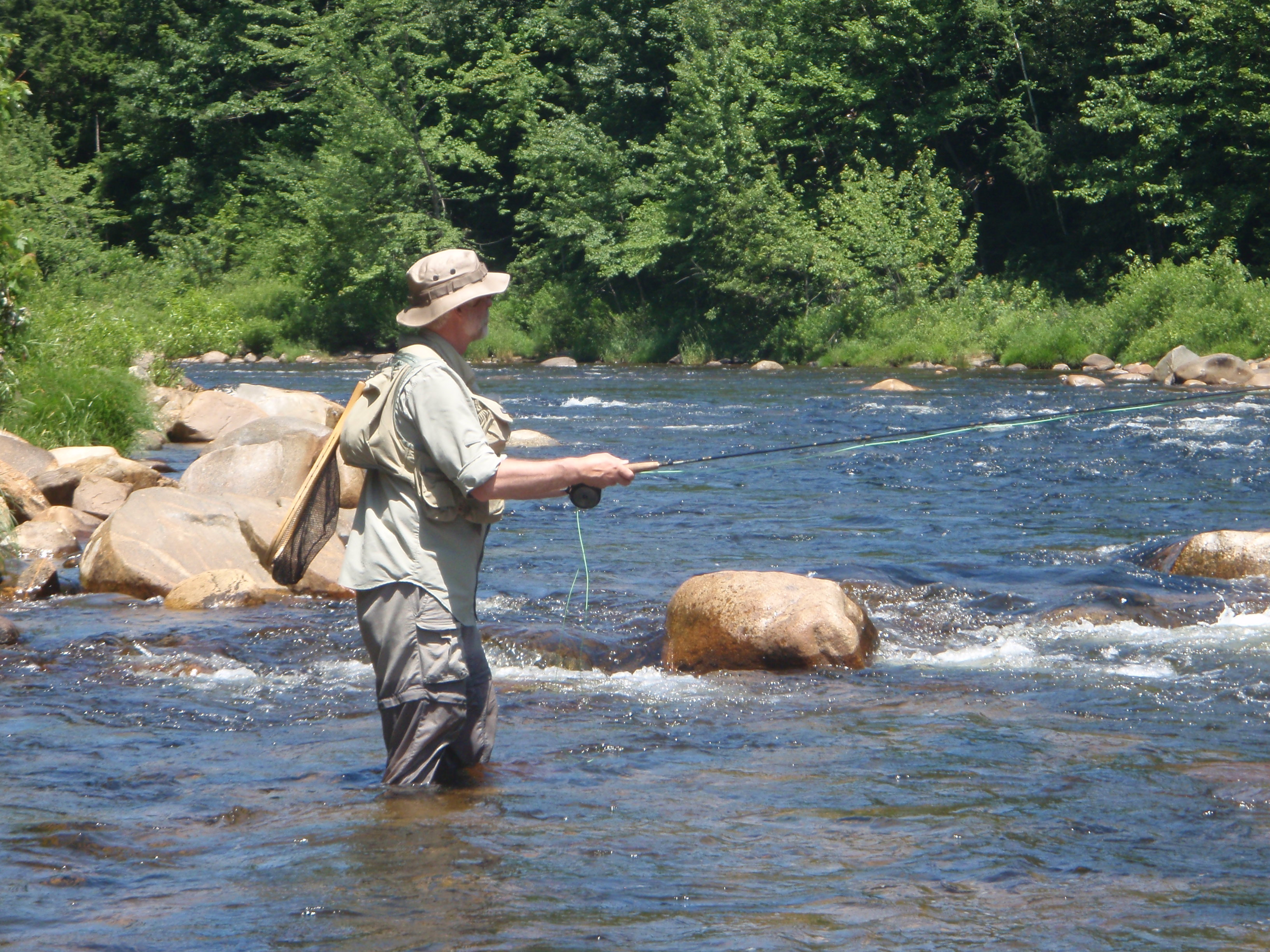 Newfound river pemigewasset river and mad river of for Mad river fishing